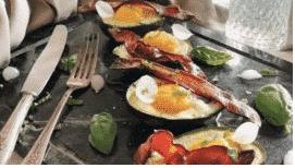 Bienestar ABC Aguacate relleno de huevo