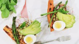 Bienestar ABC ensalada de legumbres