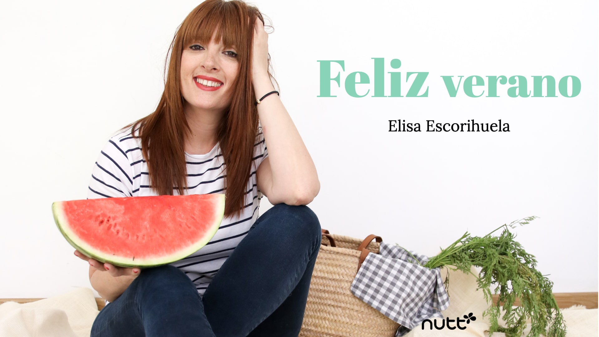 Feliz verano Elisa Escorihuela